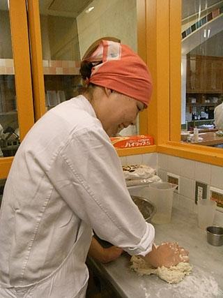 パン作り風景