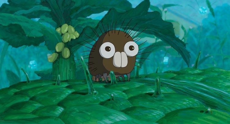 「毛虫のボロ」場面写真