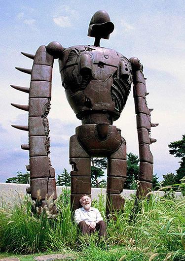 屋上のロボット兵