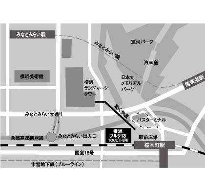 横浜ブルク13地図