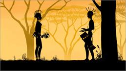 三鷹の森ジブリ美術館ライブラリー作品 映画『夜のとばりの物語』場面写真 04